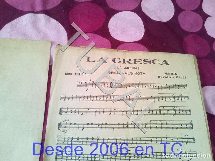 Partituras musicales: TUBAL LA GRESCA VALS REFALA Y GALES PARTITURA ANTIGUA P1 - Foto 3 - 178711843