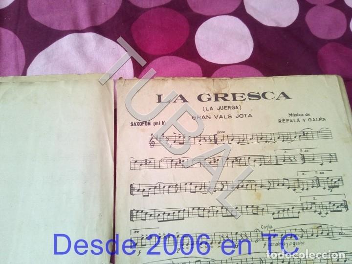 Partituras musicales: TUBAL LA GRESCA VALS REFALA Y GALES PARTITURA ANTIGUA P1 - Foto 4 - 178711843