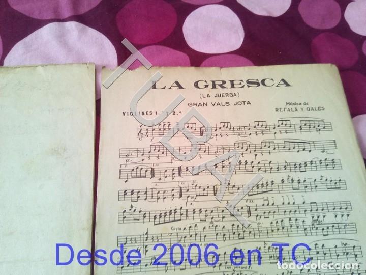 Partituras musicales: TUBAL LA GRESCA VALS REFALA Y GALES PARTITURA ANTIGUA P1 - Foto 5 - 178711843