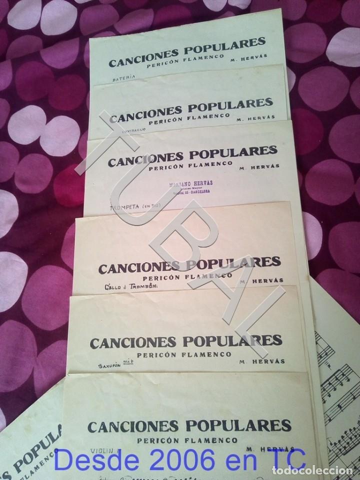Partituras musicales: TUBAL CANCIONES POPULARES PERICON FLAMENCO 1934 PARTITURA ANTIGUA P1 - Foto 3 - 178712651