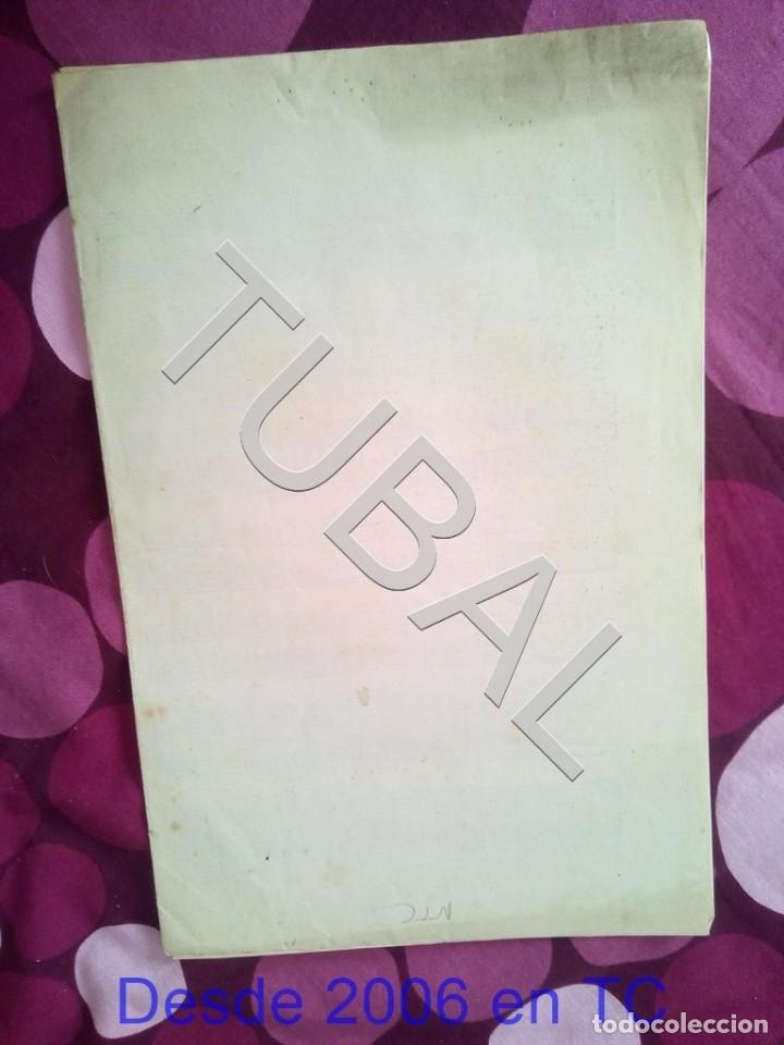 Partituras musicales: TUBAL CANCIONES POPULARES PERICON FLAMENCO 1934 PARTITURA ANTIGUA P1 - Foto 4 - 178712651