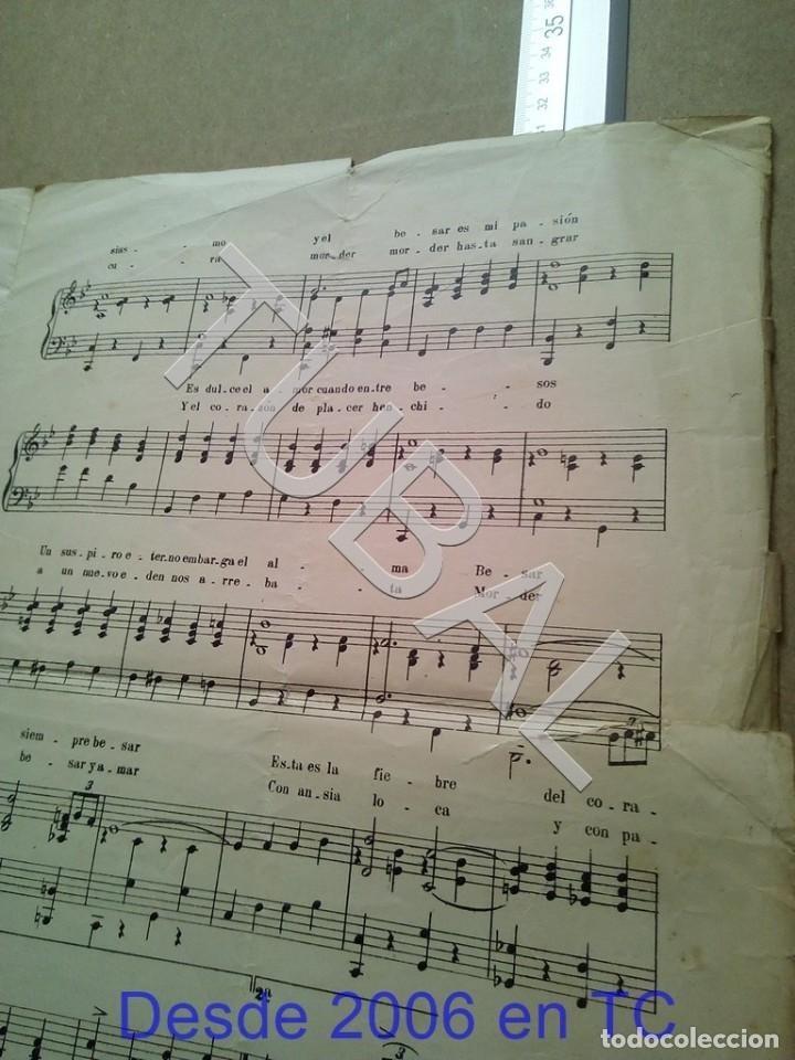 Partituras musicales: TUBAL ANTIGUA PARTITURA JUAN DOTRAS PASTOR BESOS Y MORDISCOS FOX TROT P1 - Foto 3 - 178919097