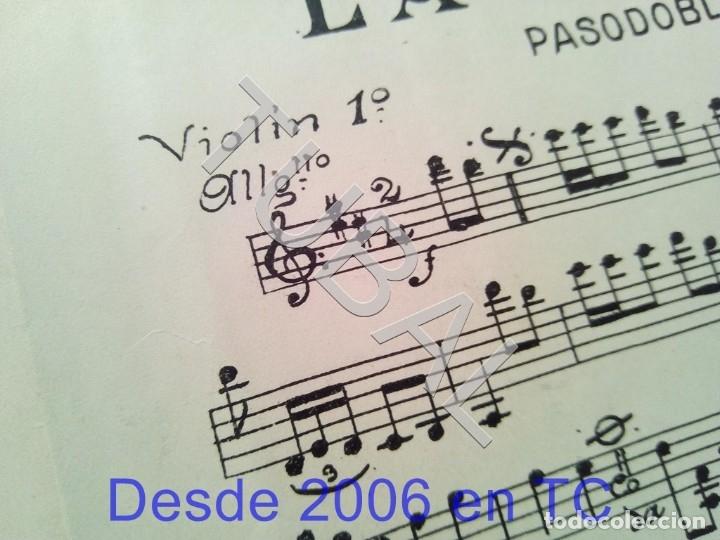 Partituras musicales: TUBAL ANTIGUA PARTITURA MANUEL Y J VILLACAÑAS LA CAYETANA PASODOBLE P1 - Foto 6 - 178919291