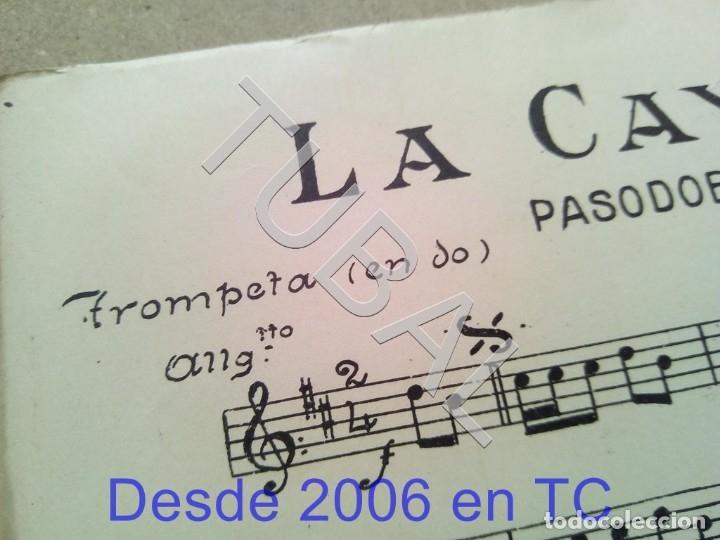 Partituras musicales: TUBAL ANTIGUA PARTITURA MANUEL Y J VILLACAÑAS LA CAYETANA PASODOBLE P1 - Foto 7 - 178919291
