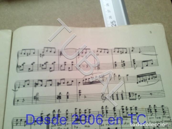 Partituras musicales: TUBAL ANTIGUA PARTITURA MANUEL Y J VILLACAÑAS LA CAYETANA PASODOBLE P1 - Foto 8 - 178919291