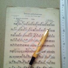 Partituras musicales: TUBAL ANTIGUA PARTITURA A BORODINE DANSES POLOVTSIENNES PRINCIPE IGOR P1. Lote 178919417