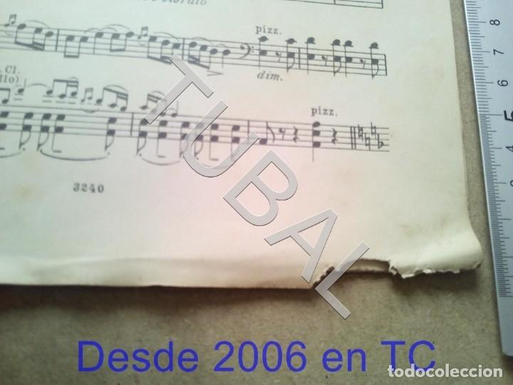 Partituras musicales: TUBAL ANTIGUA PARTITURA A BORODINE DANSES POLOVTSIENNES PRINCIPE IGOR P1 - Foto 5 - 178919417