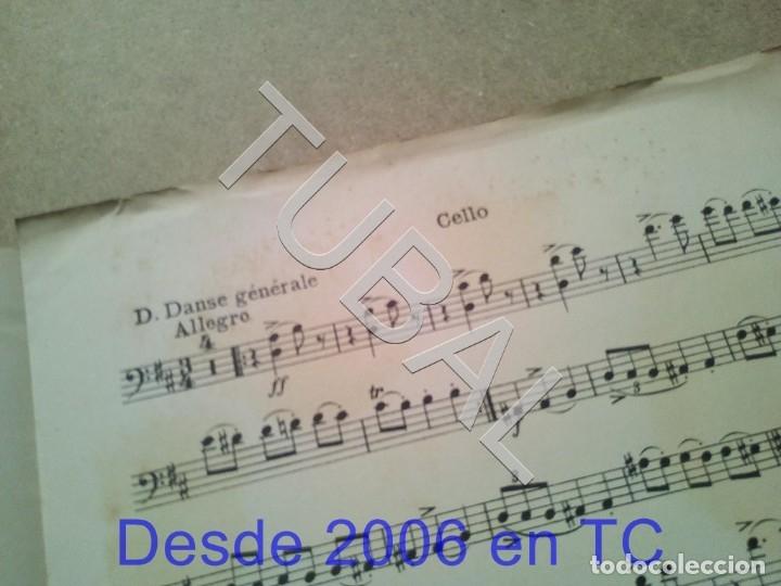 Partituras musicales: TUBAL ANTIGUA PARTITURA A BORODINE DANSES POLOVTSIENNES PRINCIPE IGOR P1 - Foto 7 - 178919417