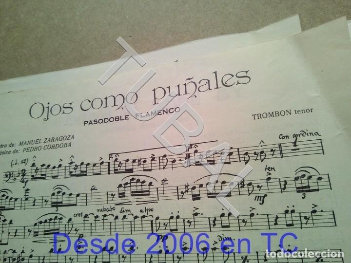 Partituras musicales: TUBAL ANTIGUA PARTITURA PEDRO CORDOBA YA LLEGA LA RONDA 1934 P1 - Foto 6 - 178919486