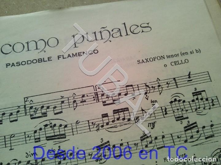 Partituras musicales: TUBAL ANTIGUA PARTITURA PEDRO CORDOBA OJOS COMO PUÑALES 1934 P1 - Foto 4 - 178919515