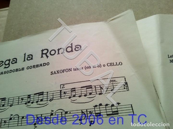 Partituras musicales: TUBAL ANTIGUA PARTITURA PEDRO CORDOBA OJOS COMO PUÑALES 1934 P1 - Foto 5 - 178919515