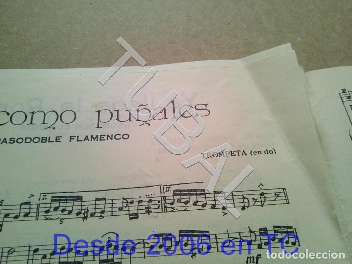 Partituras musicales: TUBAL ANTIGUA PARTITURA PEDRO CORDOBA OJOS COMO PUÑALES 1934 P1 - Foto 9 - 178919515