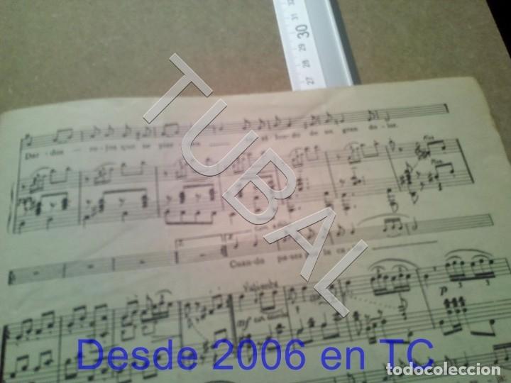 Partituras musicales: TUBAL ANTIGUA PARTITURA PEDRO CORDOBA OJOS COMO PUÑALES 1934 P1 - Foto 10 - 178919515