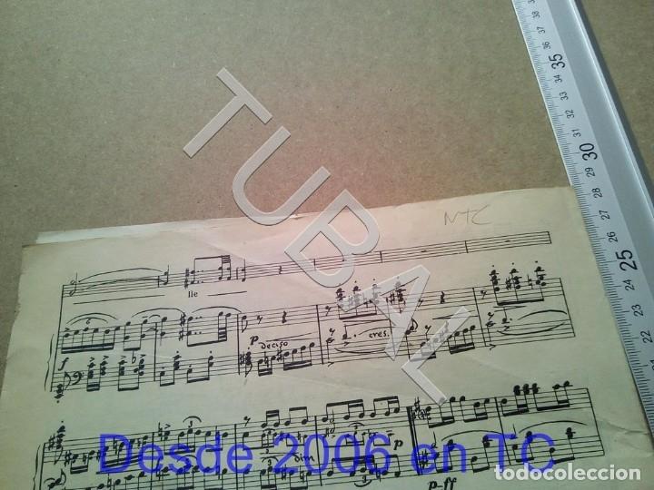 Partituras musicales: TUBAL ANTIGUA PARTITURA PEDRO CORDOBA OJOS COMO PUÑALES 1934 P1 - Foto 11 - 178919515