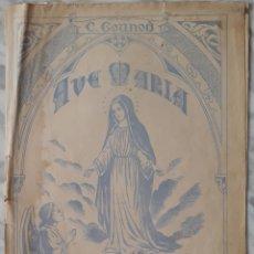 Partituras musicales: PARTITURA AVE MARÍA. Lote 179151270