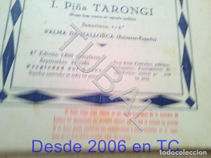 Partituras musicales: TUBAL PARTITURA ANTIGUA IGNACIO PIÑA TARONGI CARMITA VALS 1931 P1 - Foto 3 - 179172806