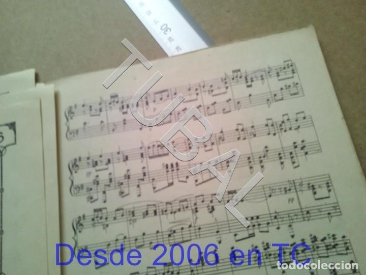 Partituras musicales: TUBAL PARTITURA ANTIGUA IJEREZ PASODOBLE GRAVINA 1929 P1 - Foto 7 - 179172951