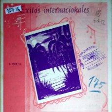 Partituras musicales: 35716 - PARTITURAS - 2 CANCIONES - TRIESTE MIA Y TE VOIO BEN - EDICIONES HISPANIA. Lote 179560263