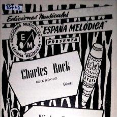 Partiture musicali: 35740 - PARTITURAS - 2 CANCIONES - CARLES ROCK Y VIAJE ESPECIAL - ED MUSICALES ESPAÑA MELODICA . Lote 179865541