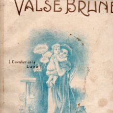 Partituras musicales: GEORGES KRIER : VALSE BRUNE. Lote 180963940