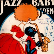 Partitions Musicales: J. DEMON : JAZZ BABY (UNION MUSICAL) FOX TROT. Lote 180965980