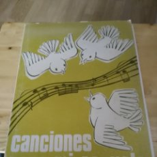 Partituras musicales: CANCIONES PARA MI ESCUELA - EMILIO SALADO GARCIA - INSTRUMENTADAS PARA EL SISTEMA ( ORFF - SCHULWERK. Lote 182485982