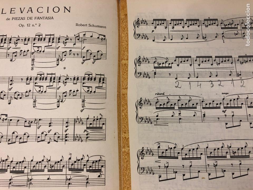 Partituras musicales: R. SCHUMANN, ELEVACIÓN DE PIEZAS DE FANTASÍA Op. 12 n° 2 VERSIÓN COMPLETA PIANO. - Foto 2 - 182891061