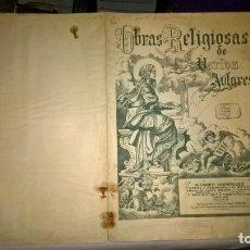 Partituras musicales: MUSICA PARTITURA : OBRAS RELIGIOSAS DE VARIOS AUTORES . Lote 182998885