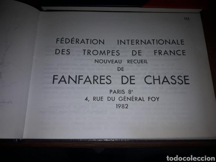 Partituras musicales: 2 libros de partituras de música de caza 1982 Edición limitada a 1000 ejemplares. Francia. Muy raros - Foto 2 - 183176278
