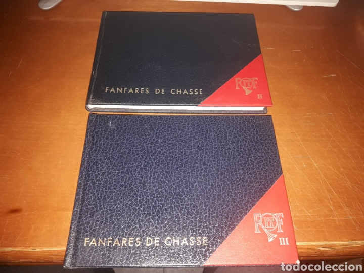 2 LIBROS DE PARTITURAS DE MÚSICA DE CAZA 1982 EDICIÓN LIMITADA A 1000 EJEMPLARES. FRANCIA. MUY RAROS (Música - Partituras Musicales Antiguas)