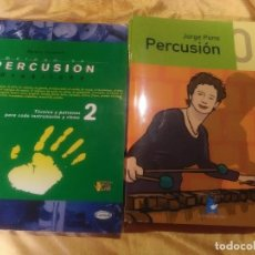 Partituras musicales: LOTE 4 LIBROS MÚSICA - PERCUSIÓN BRASILEÑA Y PERCUSIÓN 1-3-4 JORGE PONS.. Lote 183250742
