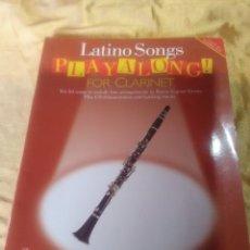 Partituras musicales: LOTE 4 TITULOS MÉTODOS PARA CLARINETE. Lote 183252145