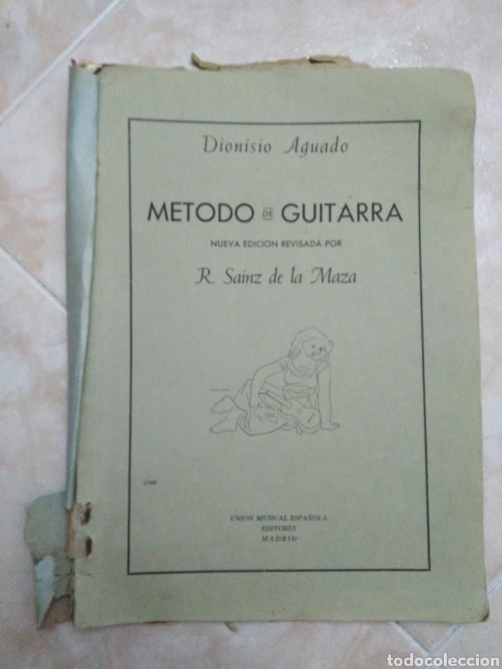 METODO DE GUITARRA R. SAINZ DE LA MAZA (Música - Partituras Musicales Antiguas)