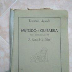 Partituras musicales: METODO DE GUITARRA R. SAINZ DE LA MAZA. Lote 183913631