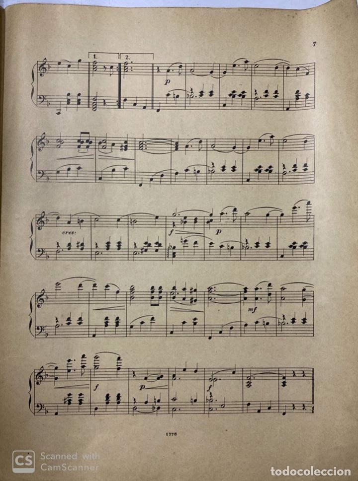 Partituras musicales: EL SUEÑO DE UN VALS. OPERA AUSTRIACA. MUSICA DE OSCAR STRAUS. ILDEFONSO ALIER EDITOR.MADRID.PAGS 8 - Foto 3 - 184099861