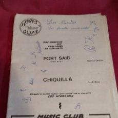 Partituras musicales: LIBRETO PARTITURAS MUSIC CLUB HOSPITALET - 1969. Lote 184354628