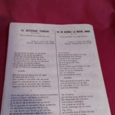 Partituras musicales: LIBRETO PARTITURAS UNION MUSICAL ESPAÑOLA - 1970. Lote 184355202