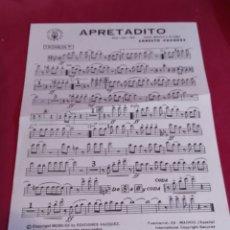 Partituras musicales: PARTITURAS EDICIONES VÁZQUEZ - 1970. Lote 184361068
