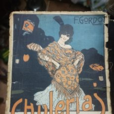 Partituras musicales: CHULERIAS - SCHOTTISCH. GORDO, F. UNIÓN MUSICAL ESPAÑOLA. MADRID, 1917. Lote 186009817