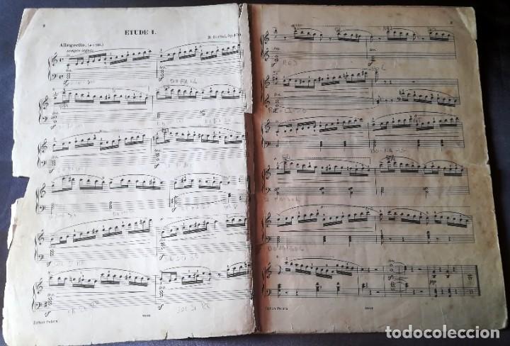 Partituras musicales: 25 Etudes pour Piano H. Bertini, C. F. Peters, Leipzig - Foto 2 - 188497538