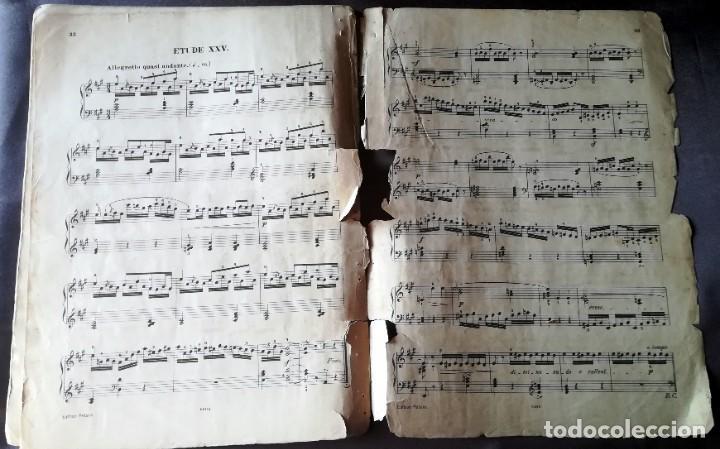 Partituras musicales: 25 Etudes pour Piano H. Bertini, C. F. Peters, Leipzig - Foto 6 - 188497538