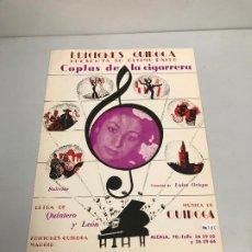 Partituras musicales: EDICIONES QUIROGA - LUISA ORTEGA . Lote 190404752