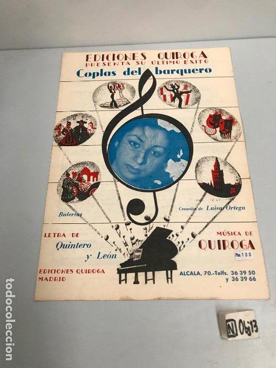 EDICIONES QUIROGA - LUISA ORTEGA (Música - Partituras Musicales Antiguas)