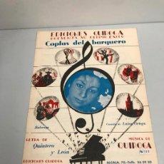 Partituras musicales: EDICIONES QUIROGA - LUISA ORTEGA . Lote 190404802