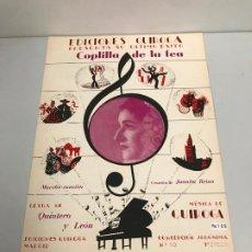 Partituras musicales: EDICIONES QUIROGA - JUANITA REINA . Lote 190404827