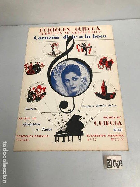 EDICIONES QUIROGA - JUANITA REINA (Música - Partituras Musicales Antiguas)