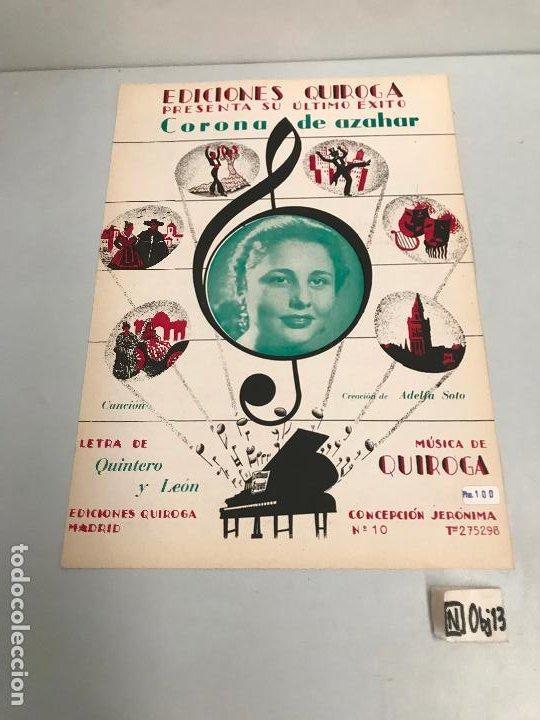 EDICIONES QUIROGA - ADELFA SOTO (Música - Partituras Musicales Antiguas)