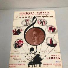 Partituras musicales: EDICIONES QUIROGA - JUANITA REINA . Lote 190404890