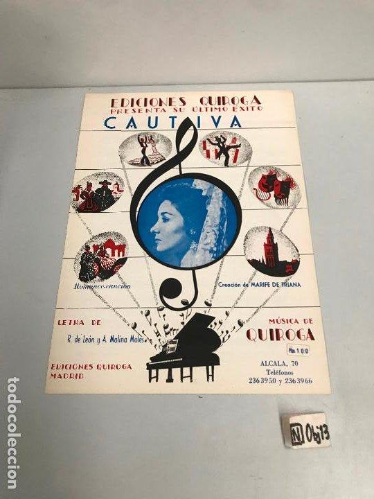EDICIONES QUIROGA - MARIFE DE TRIANA (Música - Partituras Musicales Antiguas)