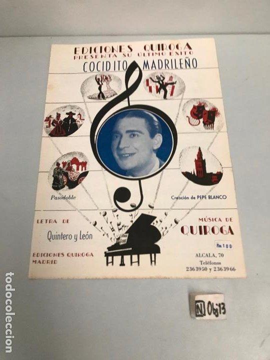 EDICIONES QUIROGA - PEPE BLANCO (Música - Partituras Musicales Antiguas)